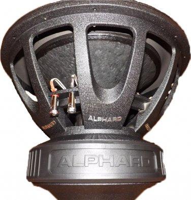 Alphard Sound Deaf Bonce DB-418 3000wrms