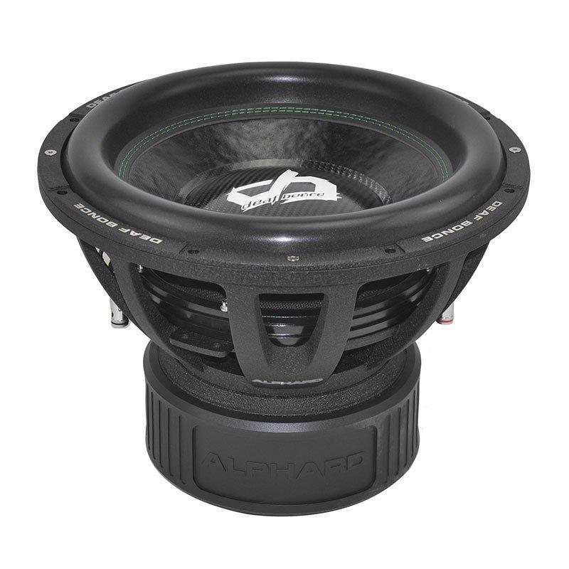 Alphard Sound Deaf Bonce DB-315 2500wrms