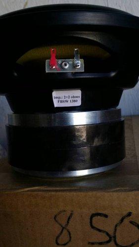 """FB Audio FBSW-8-0.4k Dual 2ohm 8"""" 400wrms"""
