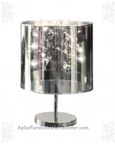 "NEW Large Supernova Modern Showy Table Lamp 21.7"""