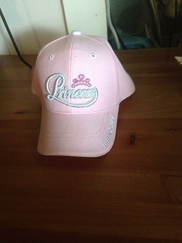 "**SEXY** Pretty Pink ""PRINCESS"" Baseball Cap With ""Bling""-Ladies"