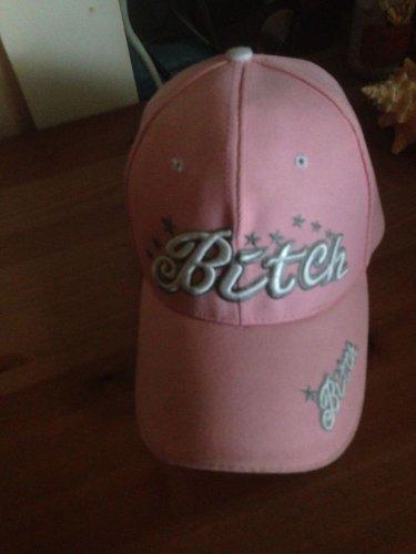 "*SEXY* Pretty Pink ""B*%&$"" Baseball Cap/hat -Ladies"