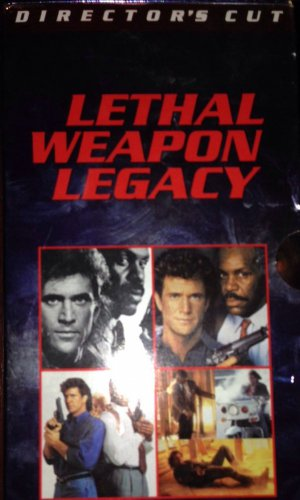 """��COLLECTABLE BOX SET�� DIRECTORS CUT~ MEL GIBSON/ DANNY GLOVER """"LETHAL WEAPON"""""""