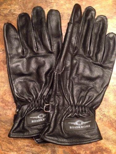 ��NWT��Road Krome Men's Motorcycle Rid'en Gloves With Gel Palm ~ S