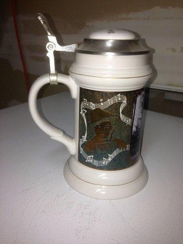 ��Beautiful RARE ELVIS�� - Collectors Beer Stein - Bradford Exchange: 1935-1977
