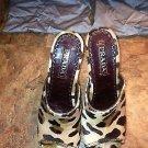 ⭐️SEXY⭐️HTF Authentic Prada Leopard Print Clogs/Mules/Heels (toeless) - Sz: 7.5