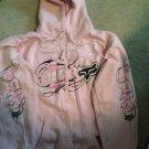 "⭐️SEXY HOT PINK⭐️ ""FOX"" Motocross Zip Up Hoodie/sweater/jacket - XL"