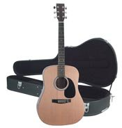 """MAXAM 40"""" ACOUSTIC GUITAR WITH CASE"""