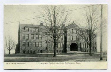 Protestant Orphan Asylum Bridgeport Connecticut postcard