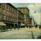 Main Street Looking North Bridgeport Connecticut 1906 postcard
