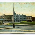 Front and West Broad Streets Quakertown Pennsylvania postcard