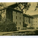 Abigail Adams Hall Massachusetts State College Amherst Massachusetts postcard