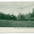Assembly Hall and Buildings Smith College Northampton Massachusetts postcard