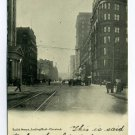 Euclid Avenue Looking West Cleveland Ohio postcard