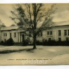 Library Middlebury College Middlebury Vermont postcard