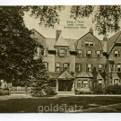Wallace House Smith College Northampton Massachusetts postcard