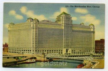 Merchandise Mart Chicago Illinois postcard