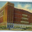 Bismarck Hotel Chicago Illinois postcard