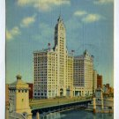 Wrigley Building Chicago Illinois 1948 postcard