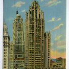 Tribune Tower Chicago Illinois postcard