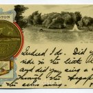 In The Public Gardens City Seal Boston Massachusetts Tuck 1903 postcard
