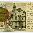 Old State House City Seal Boston Massachusetts Tuck 1902 postcard