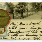 On The Common City Seal Boston Massachusetts Tuck 1903 postcard