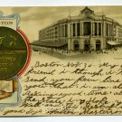 Terminal Station City Seal Boston Massachusetts Tuck 1905 postcard
