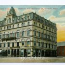 IOOF Odd Fellows Hall Tremont and Berkeley Streets Boston Massachusetts 1911 postcard