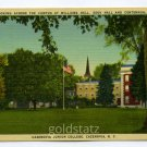 Williams Hall Eddy Hall Centennial Hall Cazenovia Junior College Cazenovia New York postcard