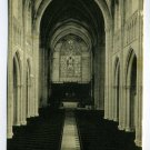 Interior of the Chapel Princeton University Princeton New Jersey postcard