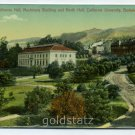 California Hall Machinery Building North Hall California University Berkeley California postcard