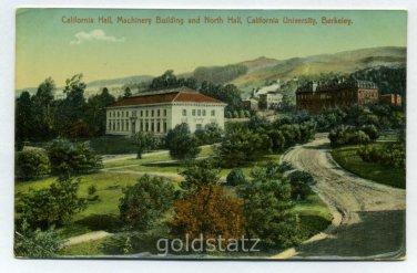 California Hall Machinery Building North Hall California University Berkeley California postcard