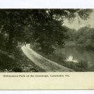 Williamson Park on the Conestoga River Lancaster Pennsylvania postcard