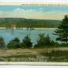 Lake Wallenpaupack showing Breast of Dam Wayne County Pennsylvania postcard