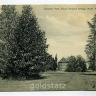 Goodnow Park Mount Holyoke College South Hadley Massachusetts postcard