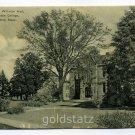 Shattuck Hall Williston Hall Mount Holyoke College South Hadley Massachusetts postcard