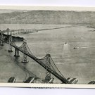 San Francisco Oakland Bay Bridge California postcard