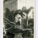 Pershing Square Los Angeles California RPPC postcard