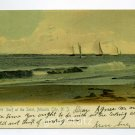 Surf at the Inlet Atlantic City New Jersey 1906 postcard