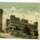 Casco Castle South Freeport Maine 1906 postcard