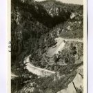 Switchbacks Oak Creek Highway Flagstaff Prescott Arizona RPPC postcard