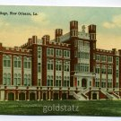 Loyola College New Orleans Louisiana postcard