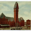 Dearborn Station Chicago Illinois 1915 postcard