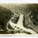 The Narrows Cumberland Maryland RPPC postcard
