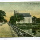 Old St. John's Church Easton Maryland postcard