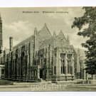 Madison Hall Princeton University New Jersey postcard
