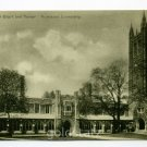Holder Hall Court and Tower Princeton University New Jersey postcard
