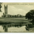 Cleveland Memorial Tower Graduate School Princeton University postcard