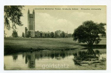 Cleveland Memorial Tower Graduate School Princeton University postcard